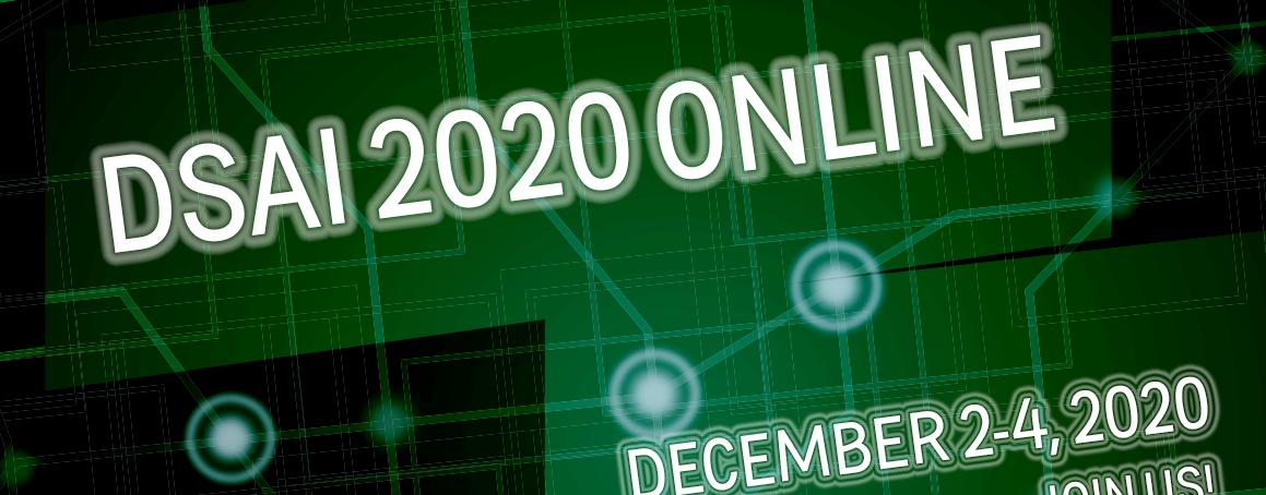 """DSAI Banner stating """"Join us Devember 2-4 2020!"""""""