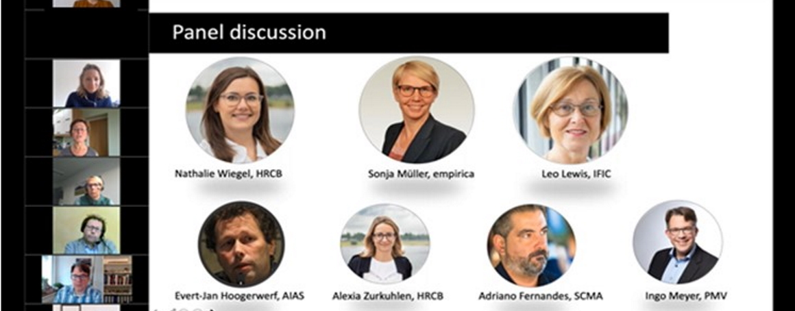 Among others, speakers included SHAPES partners: Evert-Jan Hoogerwerf (AIAS Bologna) Lead Partner Task 3.2, Dr. Alexia Zurkuhlen (HealthRegion CologneBonn & gewi-Institute for healthcare studies) presented the Reference Site Oberbergischer Kreis