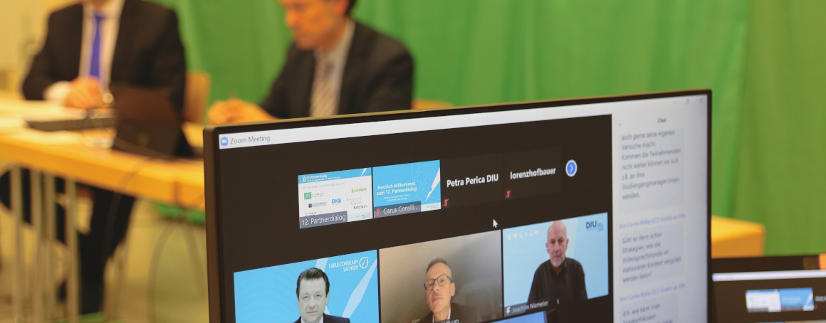 """Virtual panel discussion during the CCS Partner Dialogue that addressed the topic """"Digital health platforms: Isolated silos or pan-European enablers?"""""""