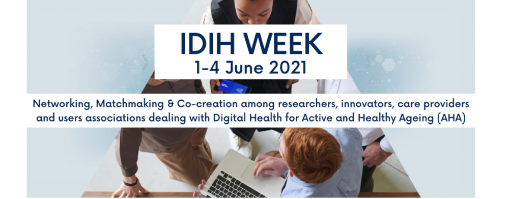 Banner of the IDIH Week 2021